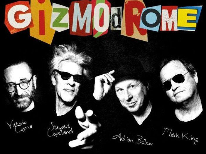 Gizmodrome – la copertina dell'album omonimo
