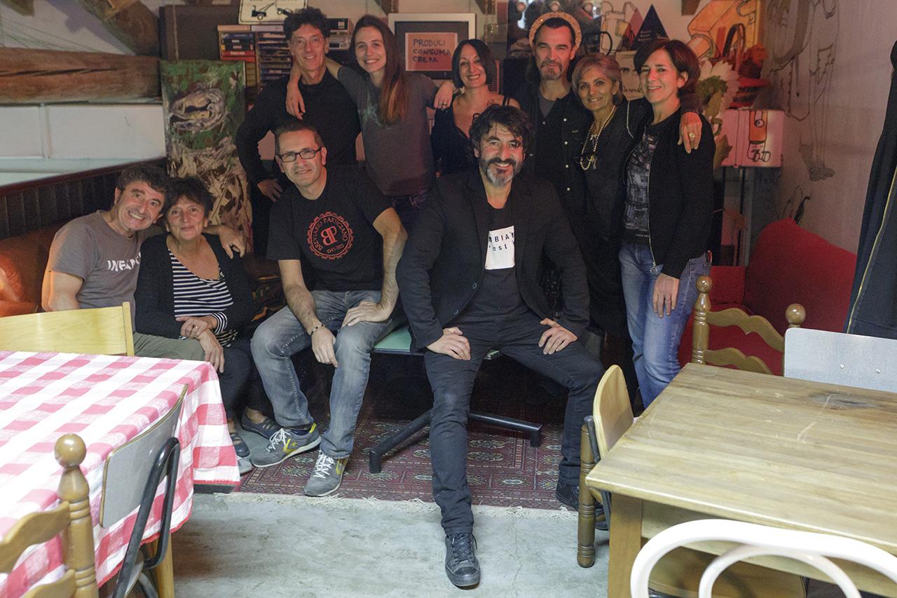 Gruppo del dopo cena al Ribalta di Vignola, 14 ottobre 2018
