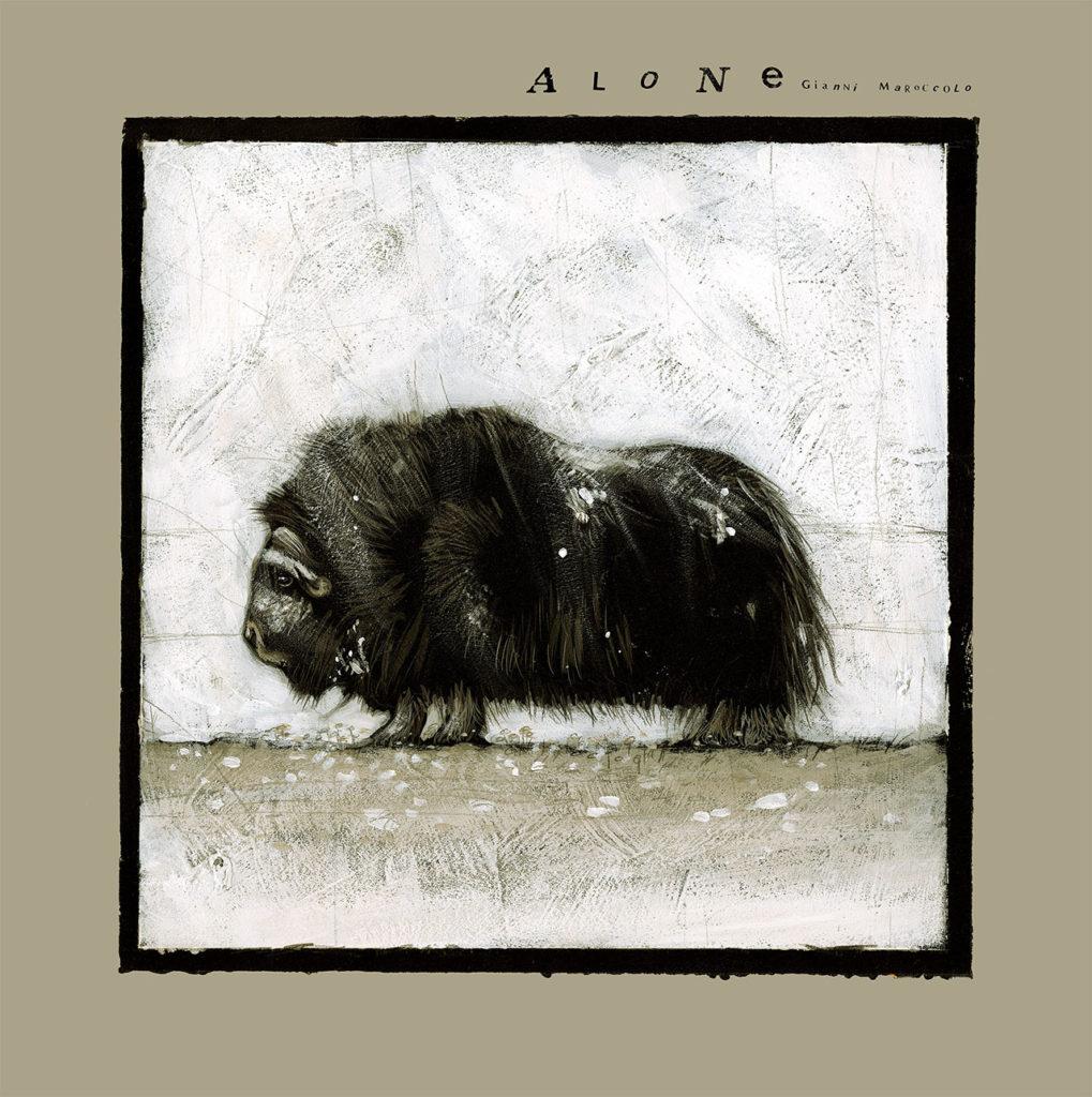 """Marok – """"Alone"""", Vol. I: la copertina realizzata da Marco Cazzato"""